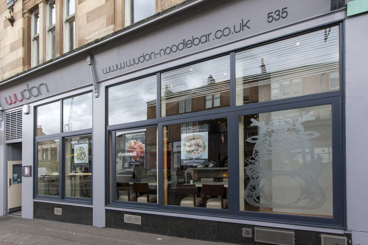 Our Glasgow restaurant